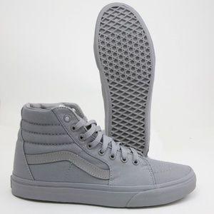 Vans SK8 Hi Limited Frost Gray unisex canvas shoes